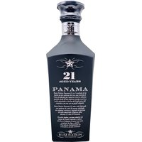 Rum Nation Panama 21 Jahre  Black Decanter